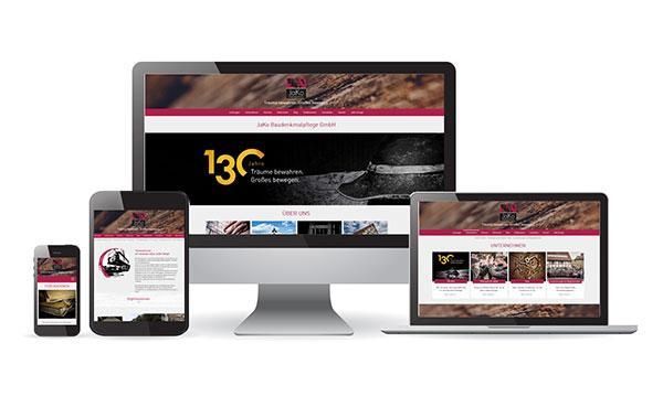 JaKo Baudenkmalpflege Webseite