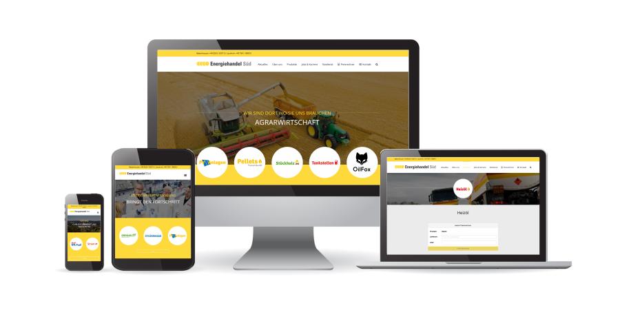 Energiehandel Süd Babenhausen Webseite