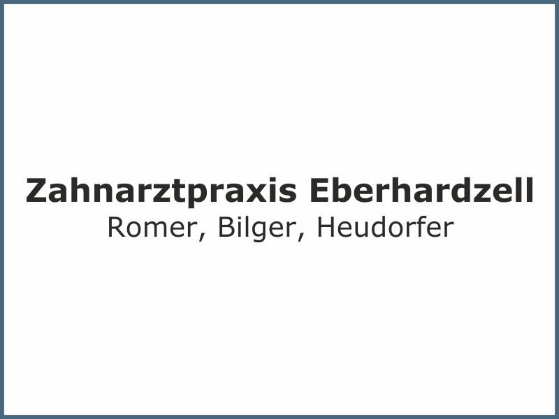Zahnarzt Eberhardzell Referenz