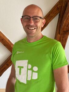 Microsoft Teamsplayer Daniel Eggers