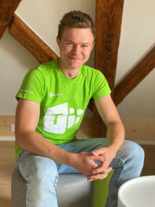 Microsoft Teamsplayer Elias Wachter