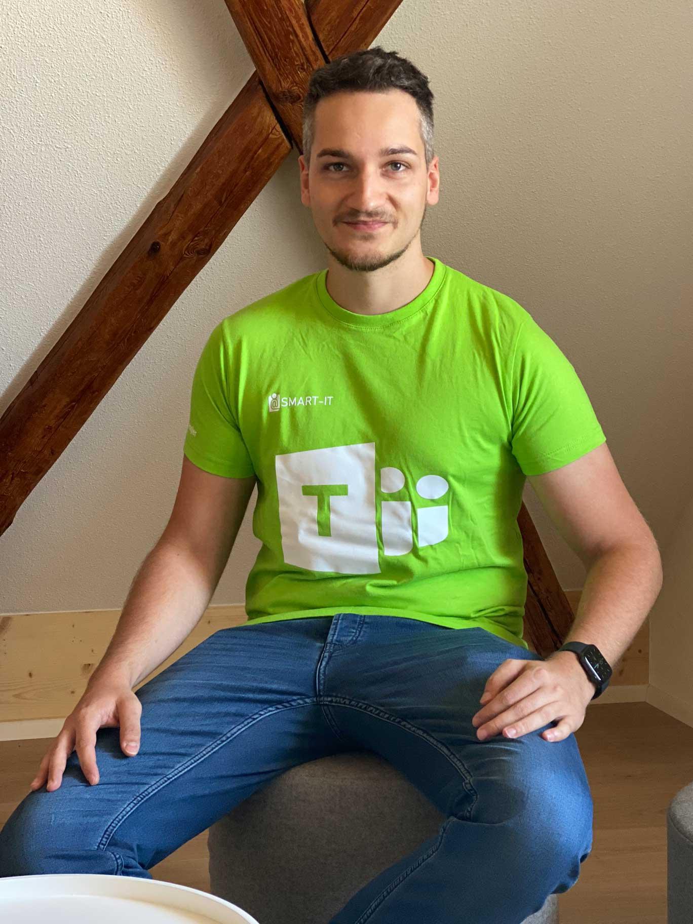 Teamsplayer Andreas Dengler